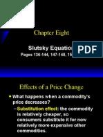 Ch8 Slutsky Equation