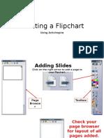 Creating a Flipchart