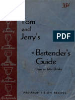 1934 Tom and Jerry's Bartender's guide