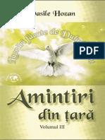 Vasile Hozan Amintiri Din Țară Vol 3