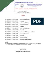 2014 2015 Structura an Master
