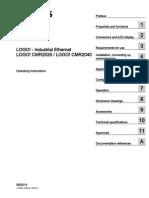Siemens Logo-cmr2020 Manual