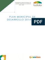 Plan de Desarrollo Municipal 2014-2016