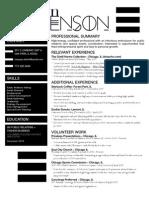mstevenson resume