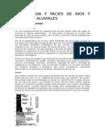 Morfologia y Facies de Rios y Abanicos Aluviales