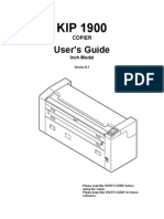 KIP 1900 User Manual Ver B 1