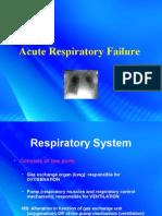 Acute Respiratory Failure 375