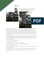 Billy Wilder Consejos Para Guionistas