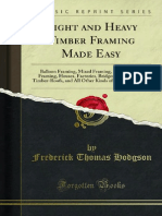 Light and Heavy Timber Framing Made Easy 1000020079