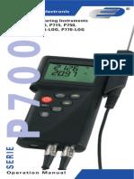 5000 0700 Series Manual
