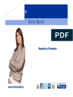 Desarrollando Formatos y Reportes en eFactory ERP/CRM en la Nube