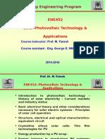PV Application -EEP 2015-2016