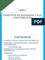 PRINCIPIOS DE SEGURIDAD
