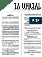 Gaceta Oficial Número 40.800 - Notilogía