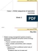 HVAC sequence of operations