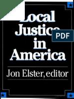 Local Justice in America