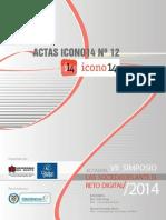"""Acta memoria del VII Simposio """"Las Sociedades ante el Reto Digital"""""""