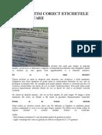 CUM SA CITIM CORECT ETICHETELE ALIMENTARE.doc