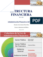 Estructura Financiera Del Estado