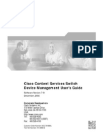 CSS Device Management User Guide Version 7.10