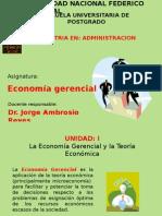 Economia Gerencial. Postgrado UNFV 2013c