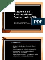 Programa de Reforzamiento Comunitario (CRA) Dra. Troncoso (Versión Visualización)