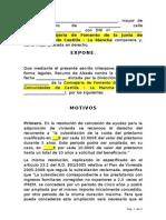 RecursoAlzadaDenegacionProrroga FSA Blanco
