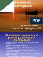 Enfermedades Hemorragíparas Teorico Mza 2015