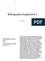 bibliography assignment 1