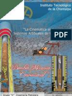 La Cinematica en Los Sistemas Artificiales de Produccion