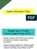 KIMIA ORGANIK FISIK