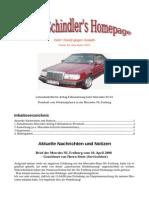 Protokoll Mercedes Airbag Fehlauslösung