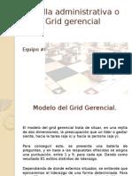 Rejilla Administrativa o Grid Gerencial