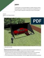 4 Formas de Construir Un Galpón