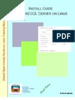 Install Guide PostgreSQL Server on Linux v1.0