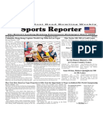 December 2 - 8, 2015  Sports Reporter