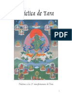 Practica de Las 21 Manifestaciones de Tara GG1