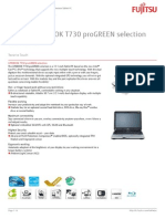 Ds Lifebook t730 Progreen