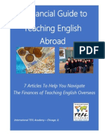 Teaching English Abroad Financial Guide eBook