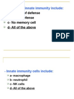 MCQ Immunology Basic