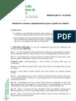 Resolucao Reg 01 2010
