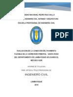 Ic-2014-080 Evaluacion Pavimento Flexible Pimentel - Santa Rosa - Metodo Vizir
