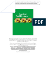 Enhancing predation of a subterranean insect pest