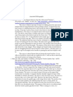 annotated bibliography  sf