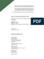 Dieta - Linee Guida & Template