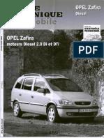 [Revue Technique Automobile][Fr] - OPEL Zafira Diesel 2.0Di Et DTi