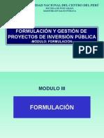 04.Modulo III Formulación