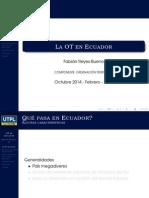 OT en Ecuador