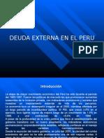 Deuda Extrena Del Peru
