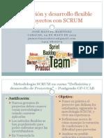 Metodología SCRUM 21Coloquio PMI